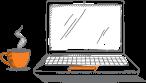 Laptop Illustration - Genesis Energy NZ
