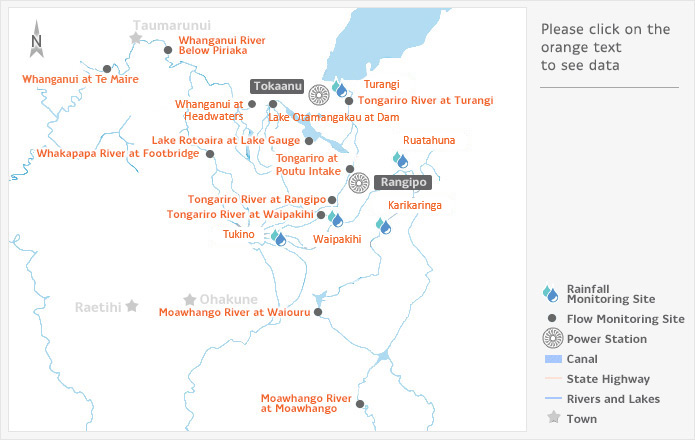 Tongariro Power Scheme Map - Genesis Energy NZ