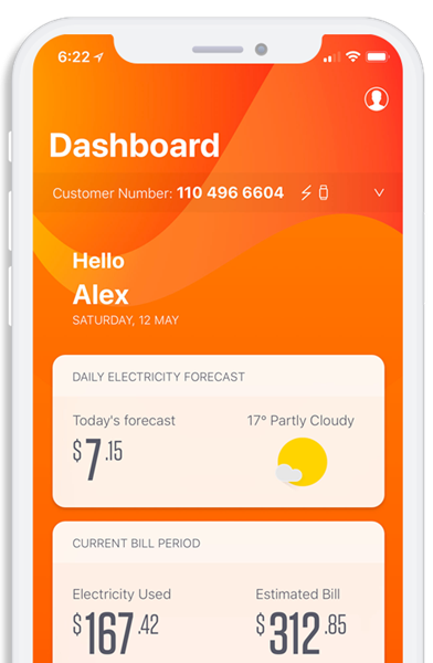 Next time, try our@Energy IQ app