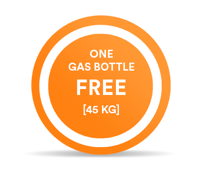 One free 45kg